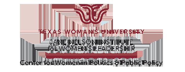 Logo: Texas Woman's University Center for Politics & Public Policy