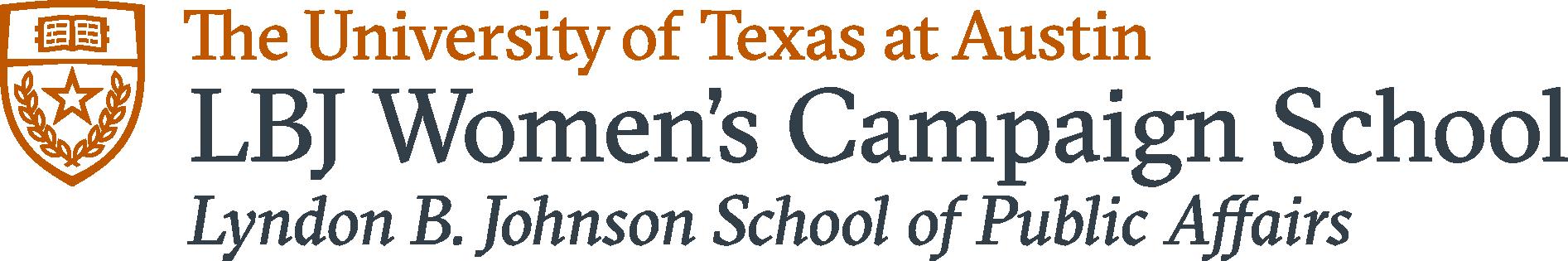 LBJ Women's Campaign School logo